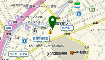 一口茶房 沖縄リウボウの地図画像