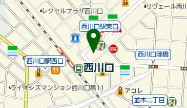 西川口フェストの地図画像