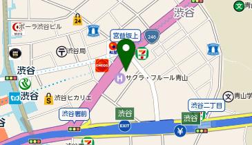 SOUND STUDIO NOAH(サウンドスタジオノア) 渋谷1号店の地図画像