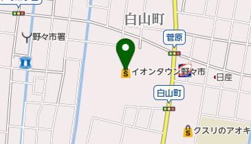 イオンタウン野々市の地図画像