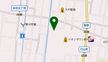 アピナ イオンタウン野々市店の地図画像