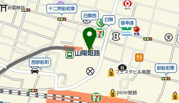 山陽百貨店の地図画像
