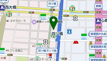 SMGアクセア貸し会議室 四ツ橋・近商ビルの地図画像