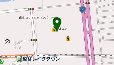 イオンレイクタウンkaze(カゼ)の地図画像
