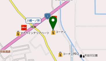 フレンドマート八幡一ノ坪店の地図画像