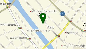 材木町よ市の地図画像