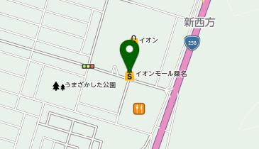 イオンモール桑名の地図画像