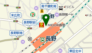 ニュー・クイック MIDORI(ミドリ)長野店の地図画像