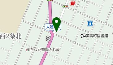 肉の割烹 田村 美幌本店の地図画像