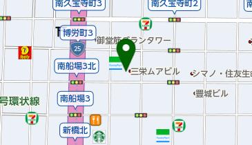 CSD GALLERIA(キャンドルスタジオ代官山 ギャラリア)心斎橋の地図画像