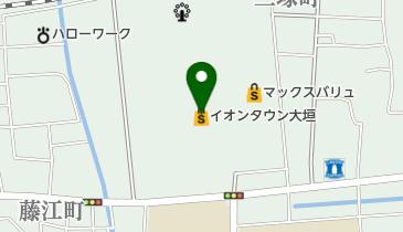 イオンタウン大垣の地図画像