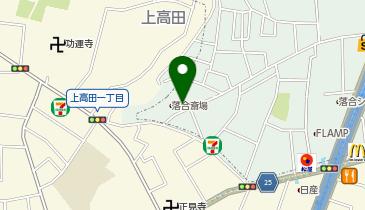 東京博善株式会社 落合斎場の地図画像