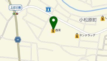 銀座 コージーコーナー 西友東松山店の地図画像