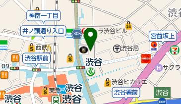 シブヤボウリングの地図画像
