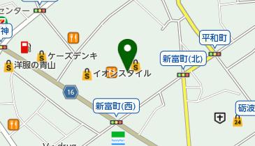 イオンモールとなみの地図画像