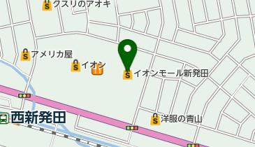 イオンモール新発田の地図画像