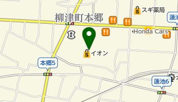 イオン 柳津店の地図画像