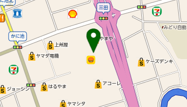 イオン 上越店の地図画像