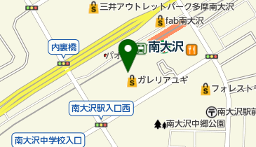 LoFt(ロフト) 南大沢店の地図画像