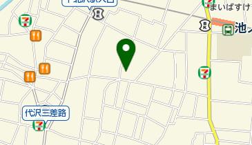日本キリスト教団 富士見丘教会の地図画像
