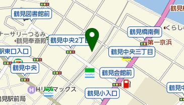 平和交通株式会社 鶴見営業所の地図画像