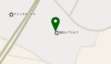 雪印メグミルク 阿見工場の地図画像