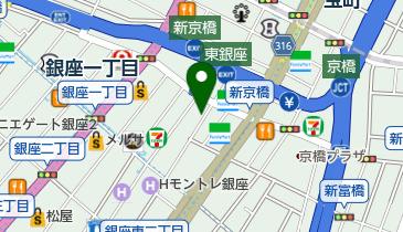 ギャラリー新居東京の地図画像