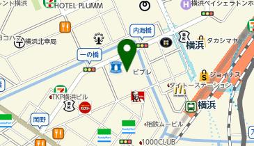 SQUAREFIELD(スクエアフィールド) 横浜ビブレ店の地図画像