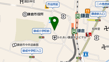 鎌倉利々庵の地図画像