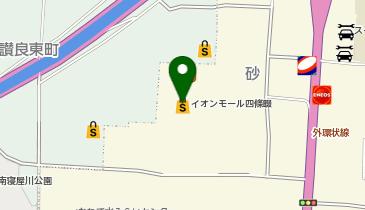 イオンモール 四条畷の地図画像