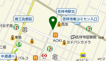セカンドストリート  吉祥寺サンロード店の地図画像