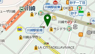 ジョイフル恵利 川崎店の地図画像