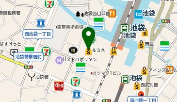 HIS 池袋本店の地図画像