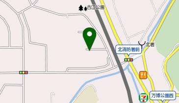 ベルパージュ千里けやき通りの地図画像
