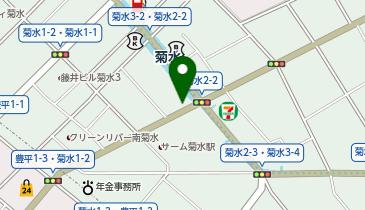 CAFE&BAR めりめろの地図画像