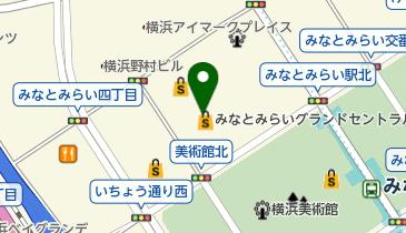 千代田化工建設 グローバル本社の地図画像