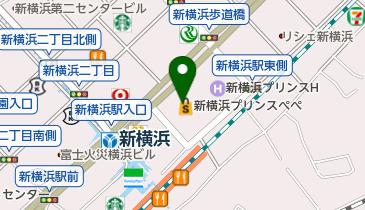 一蔵 新横浜プリンスペペ店の地図画像