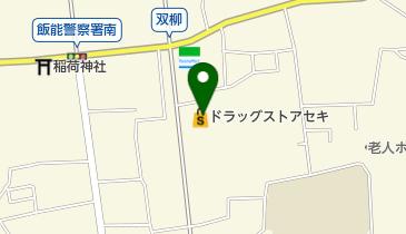 ドラッグストアSEKI(セキ) 双柳店の地図画像