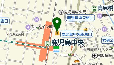 築地 銀だこ アミュプラザ鹿児島店の地図画像