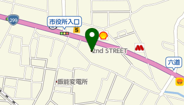 2nd STREET(セカンドストリート) 飯能店の地図画像