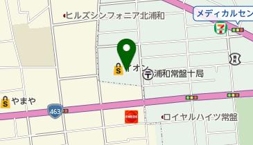 未来屋書店 北浦和店の地図画像