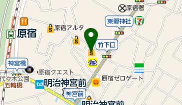 ドリーム*ステーション JOL原宿の地図画像