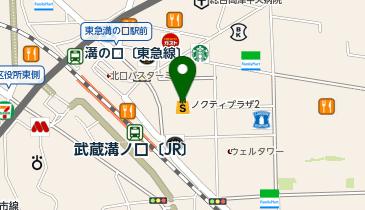 マルイファミリー溝口の地図画像