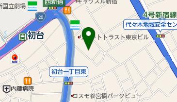 代々木能舞台の地図画像