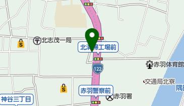 TBスタジオの地図画像