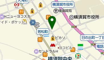 カットファクトリー 横須賀中央店の地図画像