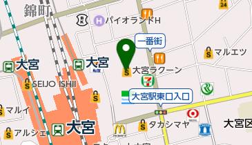 大宮ラクーンよしもと劇場の地図画像