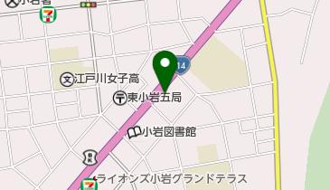 日本基督教団 小岩教会の地図画像