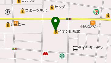 築地銀だこ イオン山形北店の地図画像