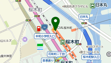 Fit Care Express(フィットケアエクスプレス) シァル桜木町店の地図画像